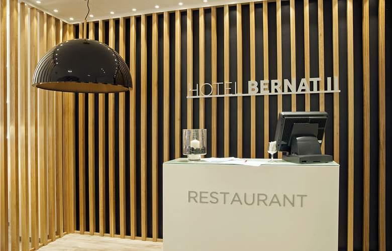 Bernat II - Restaurant - 6
