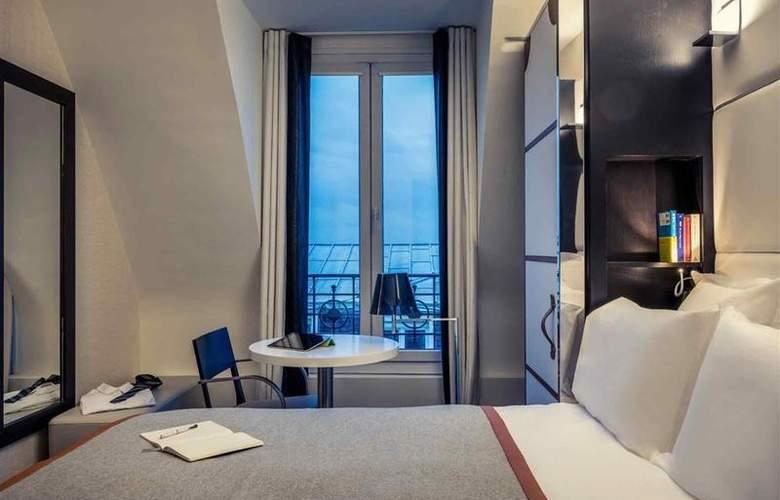 Mercure Paris Saint-Lazare Monceau - Room - 35