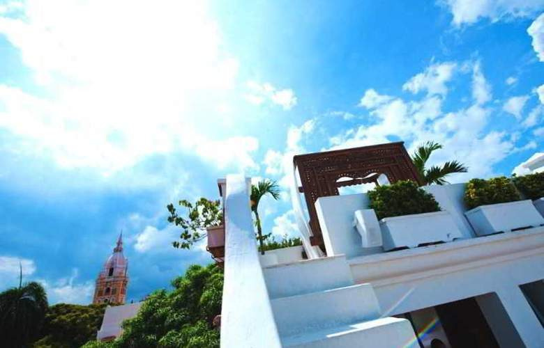 Aguamarina Hotel Boutique - Terrace - 23