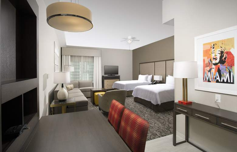 Homewood Suites by Hilton Miami Downtown/Brickell - Room - 10