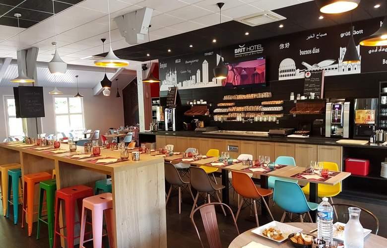 Brit Hotel Confort Lyon Nord Dardilly - Restaurant - 11