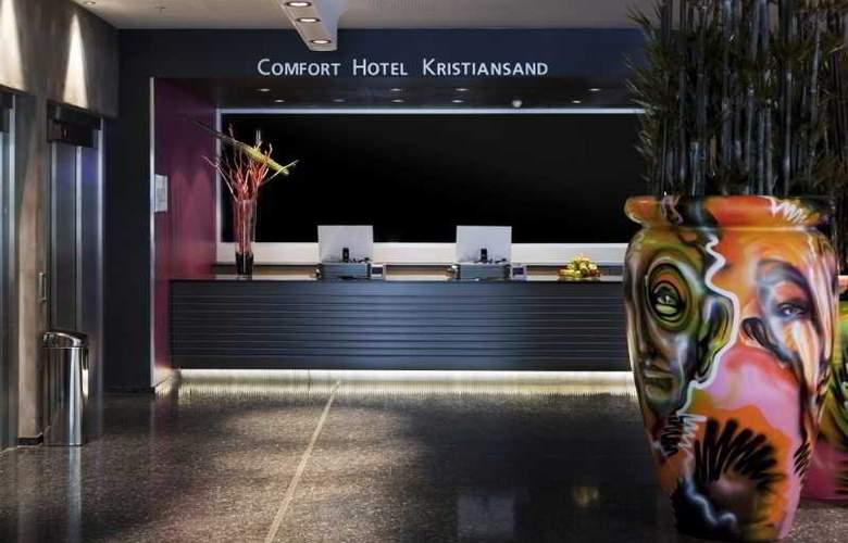 Comfort Hotel Kristiansand - Bar - 15
