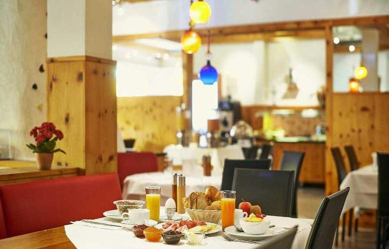 City and Wellness Swiss Quality Hotel Sonnental - Restaurant - 8