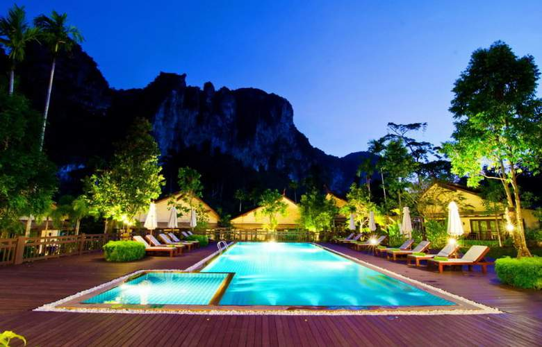 Aonang Phu Petra Resort Krabi - Pool - 16