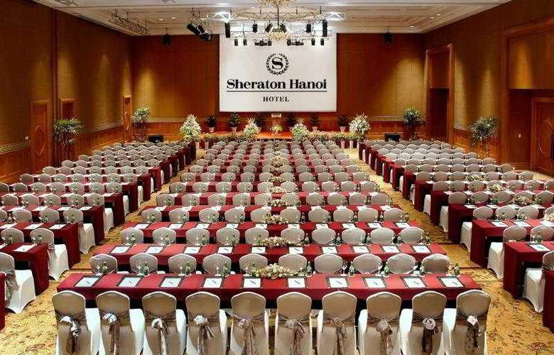 Sheraton Hanoi Hotel - Conference - 4