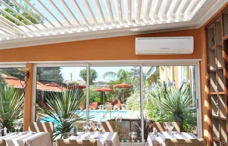 Best Western Hotel Montfleuri - Restaurant - 107