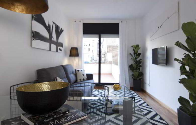 Nº130 The Streets Apartments Barcelona - Room - 9