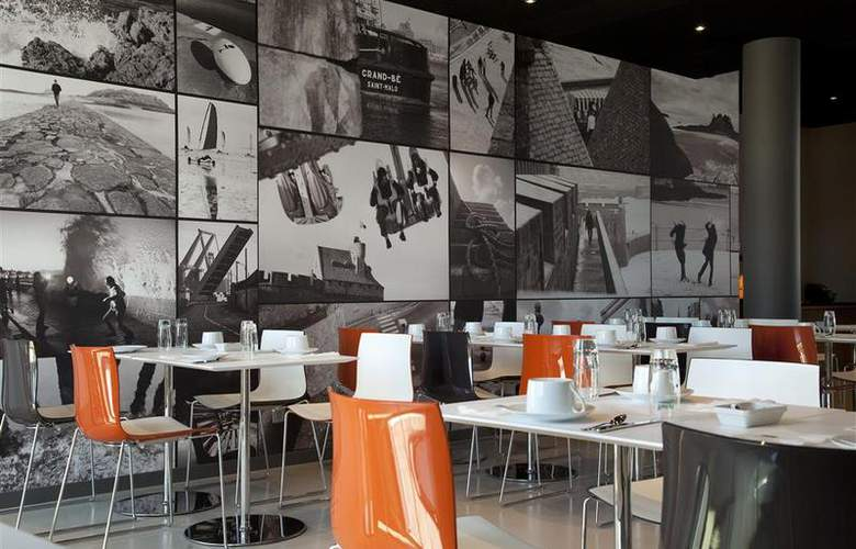 Mercure Saint-Malo Balmoral - Restaurant - 16