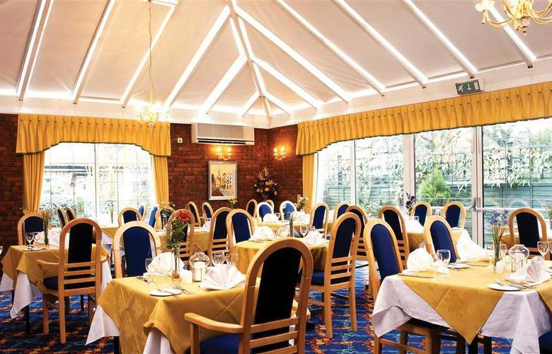 Best Western White House Watford - Restaurant - 50