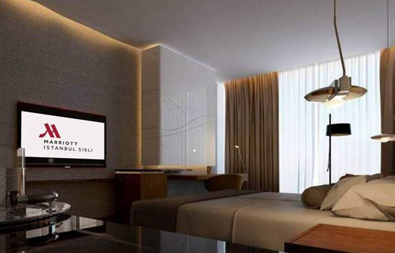 Istanbul Marriott Hotel Sisli - Room - 2