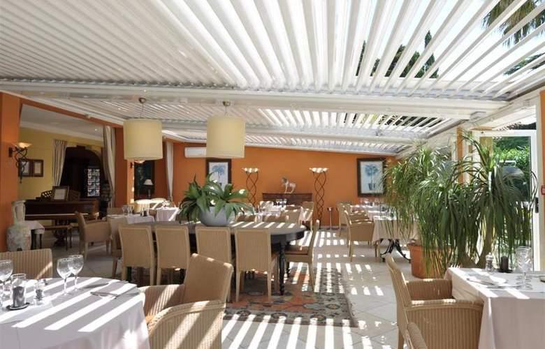 Best Western Hotel Montfleuri - Restaurant - 109