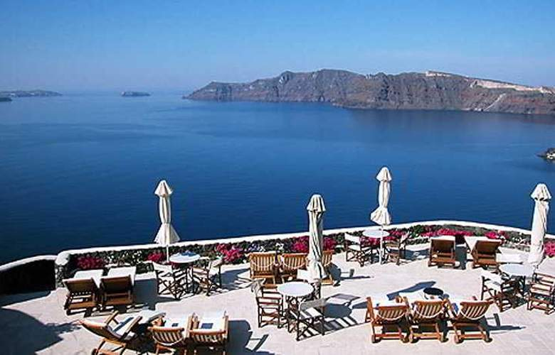 Canaves Oia Suites Apartments - Terrace - 11