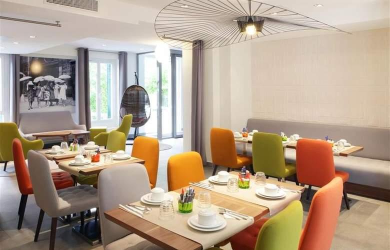 Best Western Plus 61 Paris Nation - Restaurant - 23