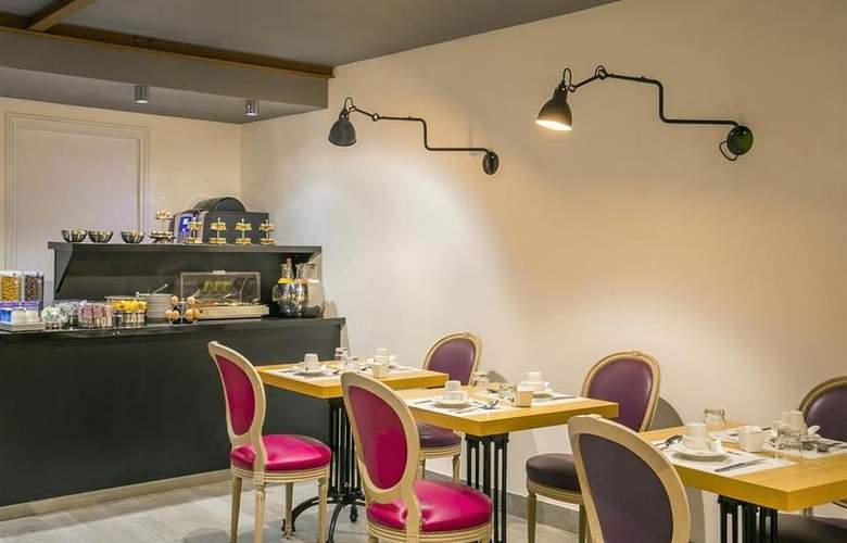 Best Western Premier Marais Grands Boulevards - Restaurant - 23