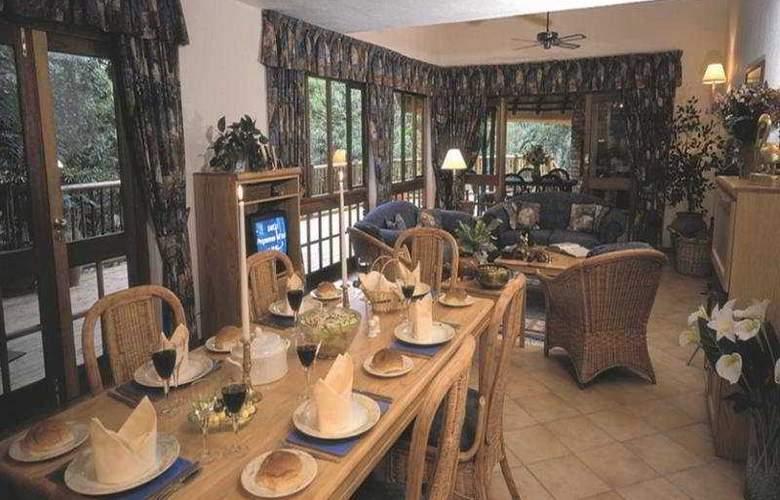 Kruger Park Lodge - Restaurant - 6