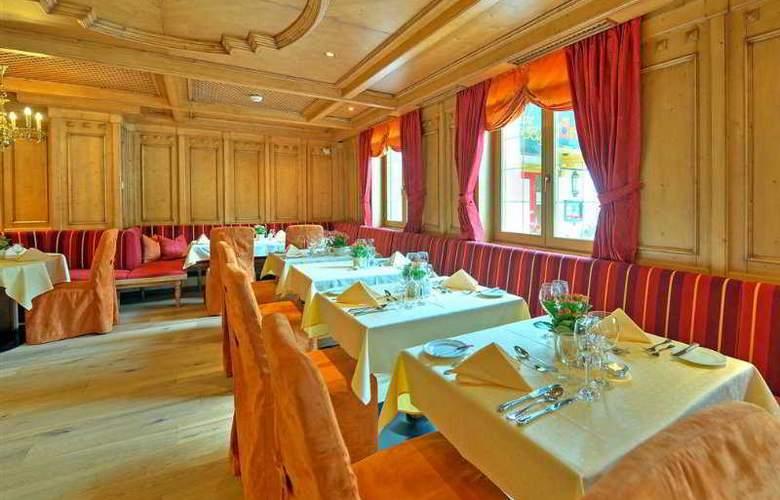 Alpenhotel Saalbach Hotel - Restaurant - 8