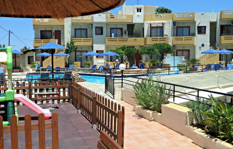 Paradise Apartments - Restaurant - 8