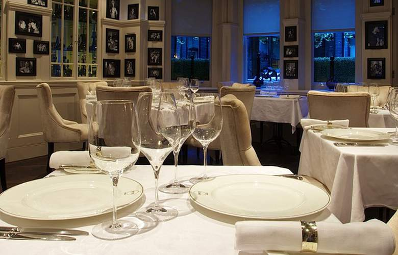 No.11 Cadogan Gardens - Restaurant - 2
