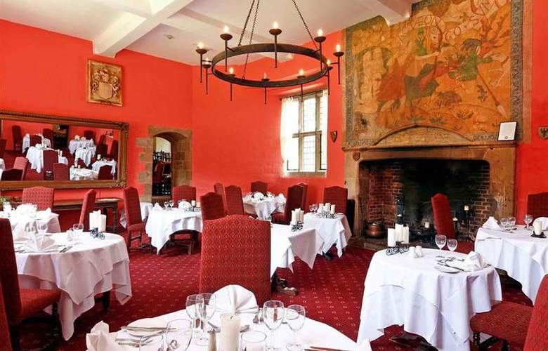 Mercure Telford Madeley Court Hotel - Restaurant - 48