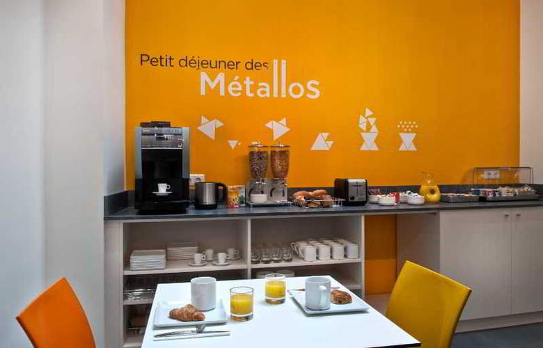 Des Metallos - Restaurant - 10