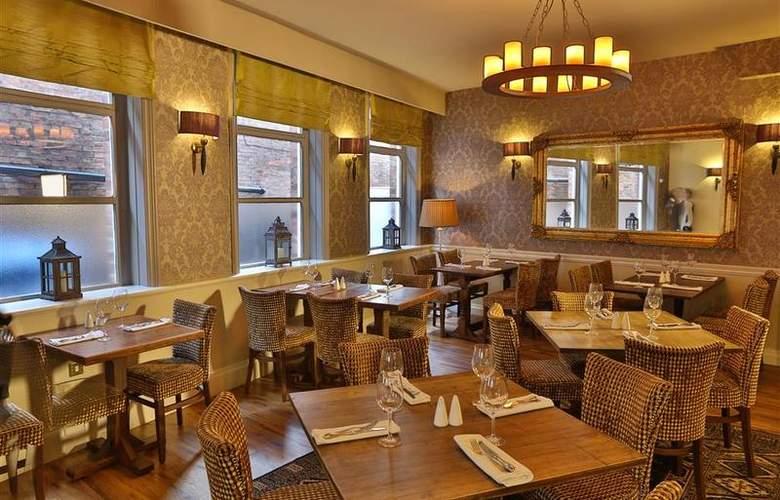 Best Western George Hotel Lichfield - Restaurant - 141