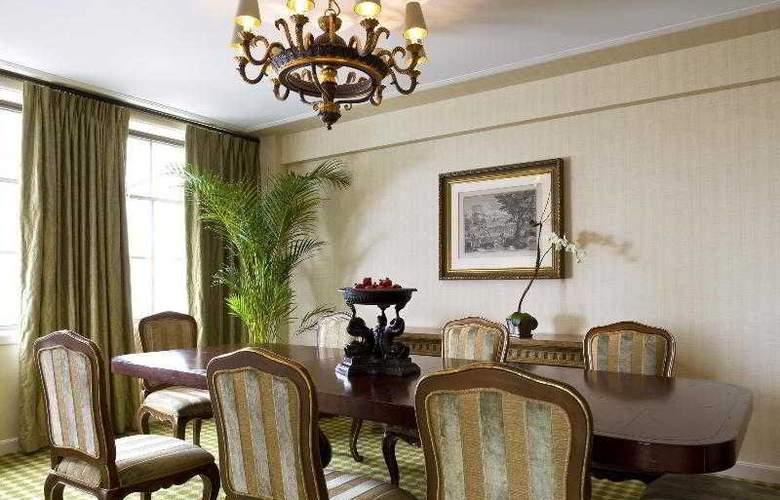The St Regis Washington Dc - Restaurant - 67