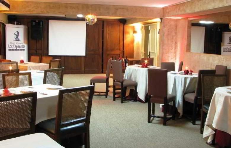 Best Western Hotel Los Españoles - Restaurant - 7