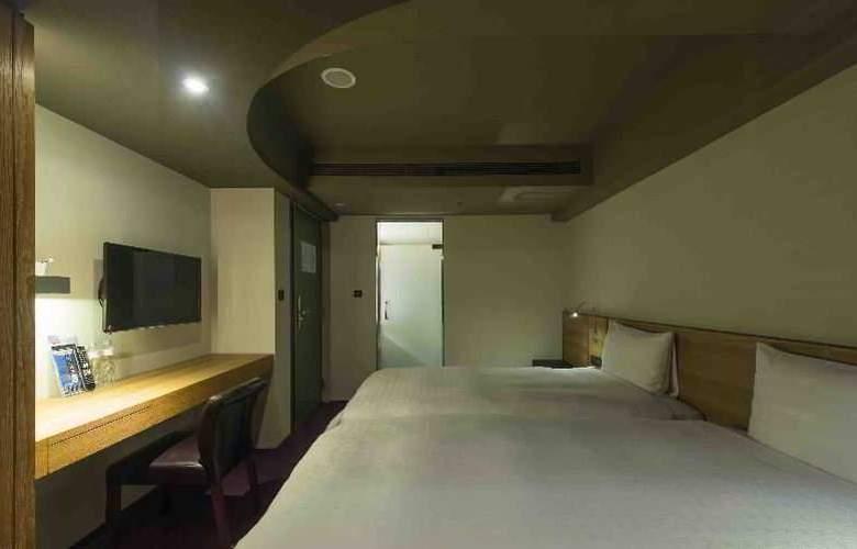 Simple+ Hotel Taipei - Room - 9