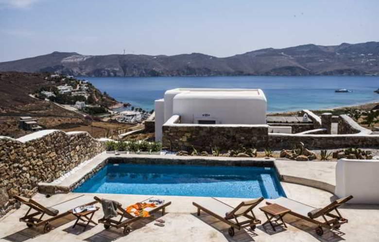 Mykonos Panormos Villas - Pool - 12