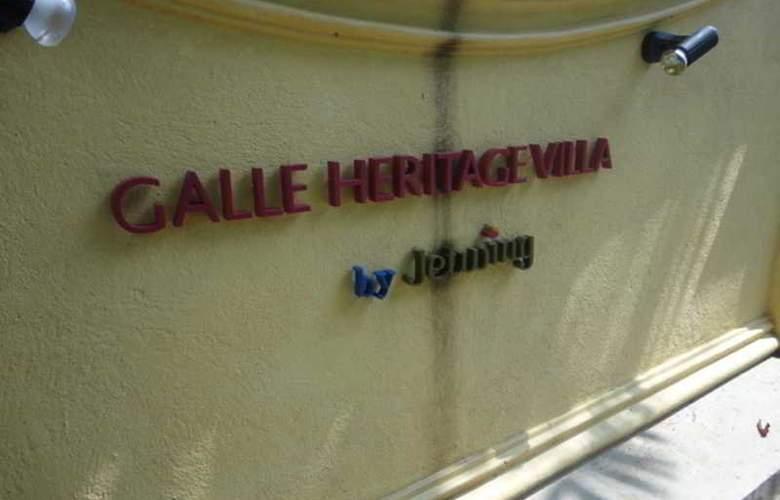 Galle Heritage Villa - Hotel - 1