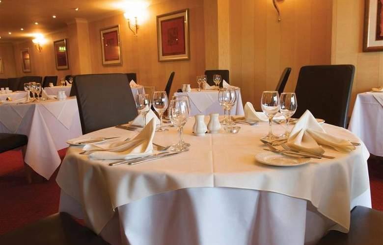 Best Western Glendower - Restaurant - 148