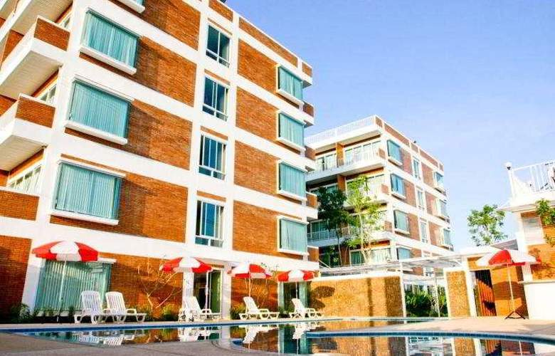 Center Park Service Apartment & Hotel Chiang Mai - Pool - 5