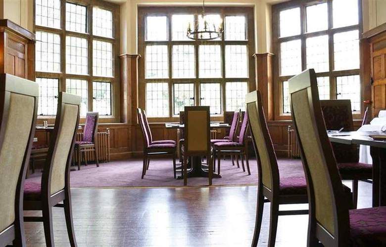 Mercure Banbury Whately Hall Hotel - Restaurant - 64