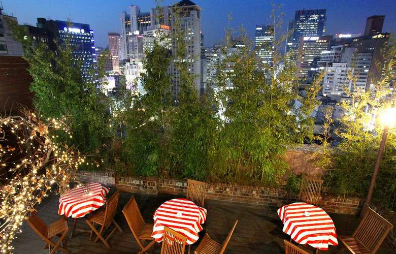 Sky Park in Myeong-dong Hotel - Terrace - 26