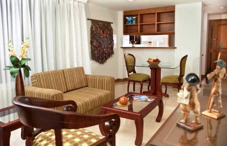 Alcazar de Oviedo Aparta Hotel - Room - 2