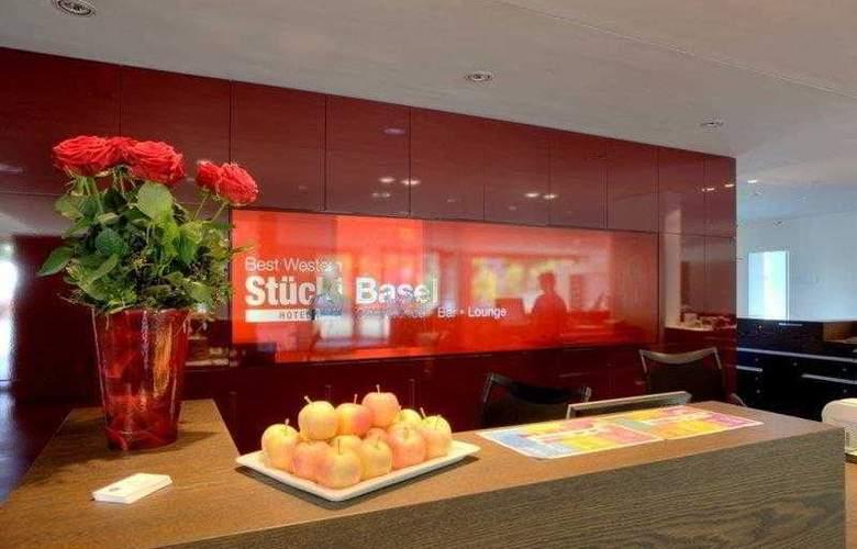 BEST WESTERN Hotel Stuecki - Hotel - 21