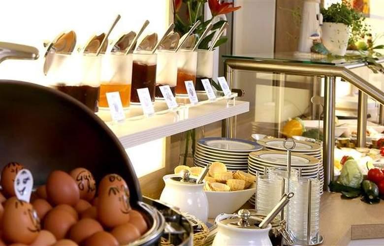 Best Western Hanse Hotel Warnemuende - Restaurant - 69