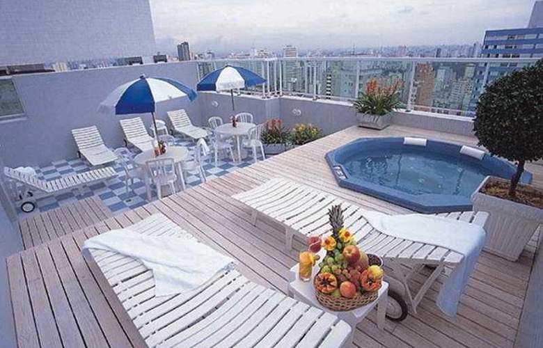 Tulip Inn Sao Paulo Paulista - Terrace - 11