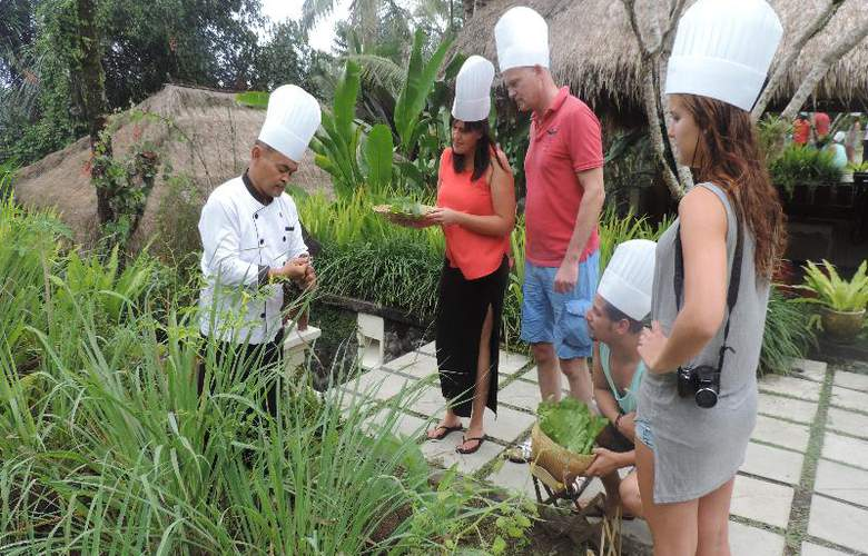 Nandini Bali Jungle Resort and Spa Ubud - Sport - 26