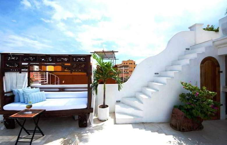 Aguamarina Hotel Boutique - Terrace - 24