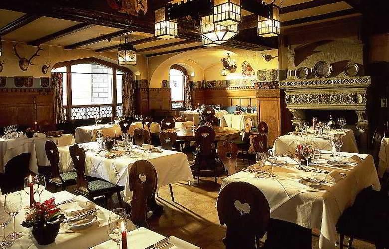 Romantik Hotel Wilden Mann - Restaurant - 8