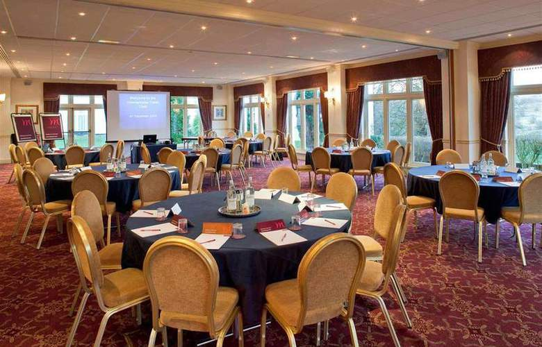 Dunkenhalgh Hotel & Spa Blackburn - Conference - 70