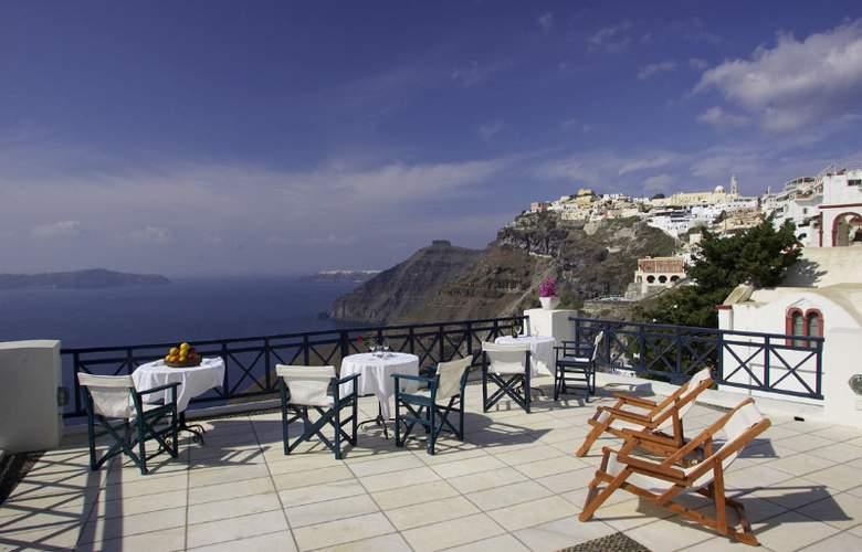 Santorini Reflexions Volcano - Terrace - 3