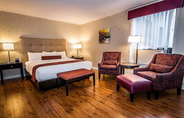 Best Western Plus Montreal Downtown Hotel Europa - Room - 54