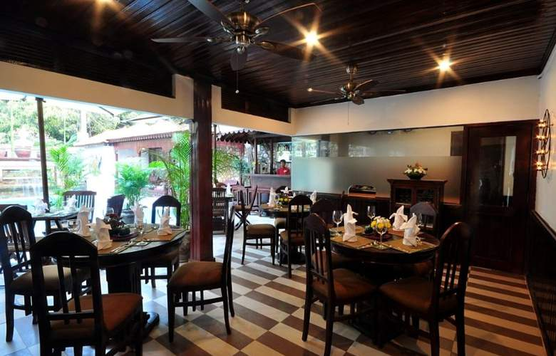 HanumanAlaya Villa - Restaurant - 28