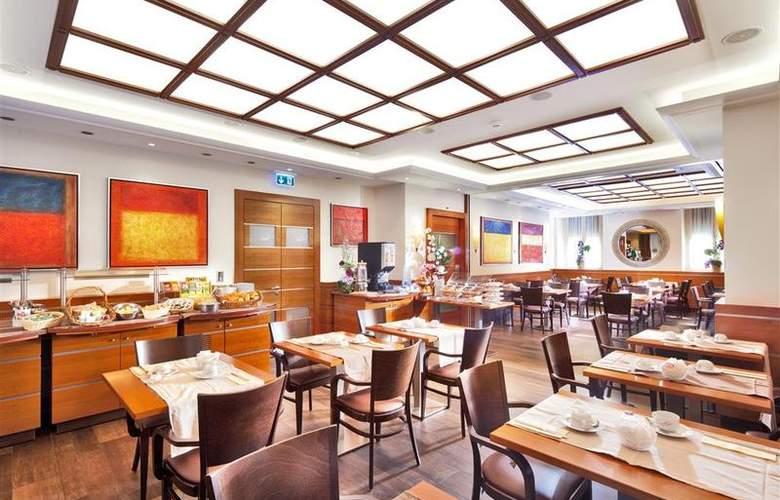 Best Western Strasbourg - Restaurant - 29