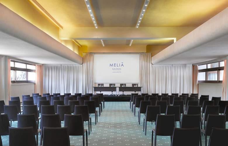 Meliá Salinas (Sólo Adultos) - Conference - 25