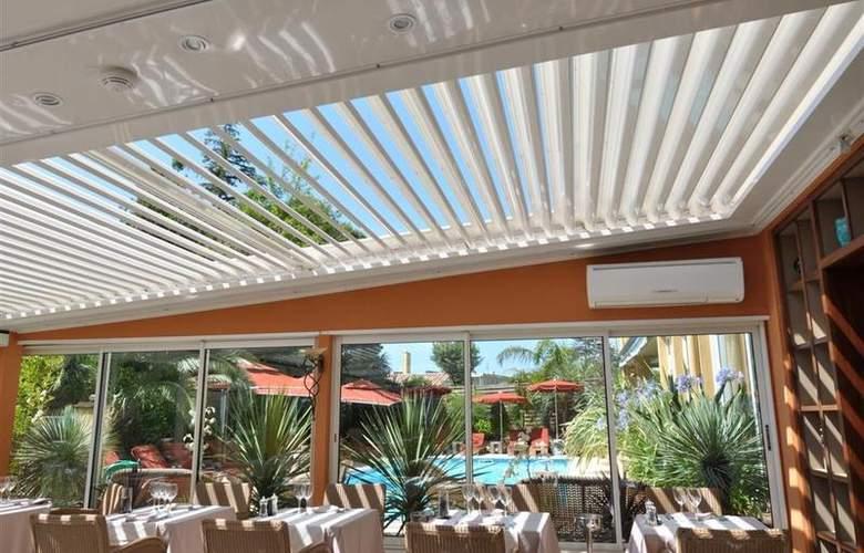 Best Western Hotel Montfleuri - Restaurant - 104