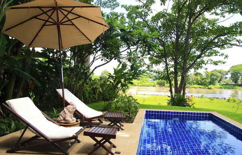 Legend Chiang Rai Boutique River Resort & Spa - Terrace - 22