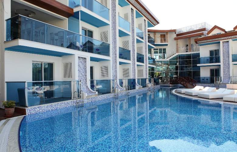 Ocean Blue High Class Hotel - Pool - 12